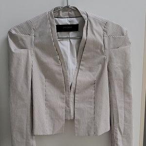 Zara pinstripe blazer